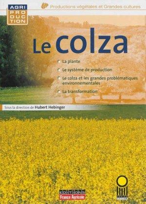 Le Colza - france agricole - 9782855572413 -