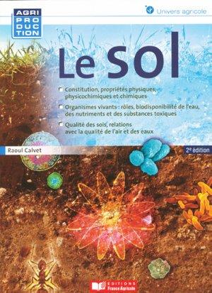 Le sol - france agricole - 9782855572444 -