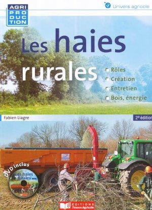 Les haies rurales - france agricole - 9782855572765 -