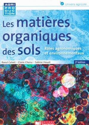 Les matières organiques des sols - france agricole - 9782855573793 -