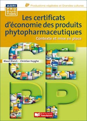 Les certificats d'économie des produits phytosanitaires - france agricole - 9782855574684 -