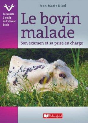Le bovin malade - france agricole - 9782855575759