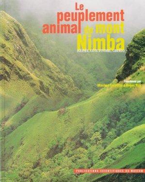 Le peuplement animal du Mont Nimba - museum national d'histoire naturelle - 9782856535547 -