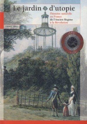 Le jardin d'utopie - museum national d'histoire naturelle - mnhn - 9782856535660 -