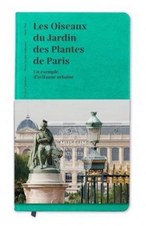 Les oiseaux du Jardin des Plantes de Paris - museum national d'histoire naturelle - mnhn - 9782856538951 -