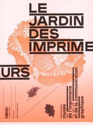 Le jardin des imprimeurs - Ville de Lyon - 9782856820223 -