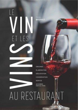 Le Vin et les Vins au restaurant - bpi - best practice inside  - 9782857085669 -