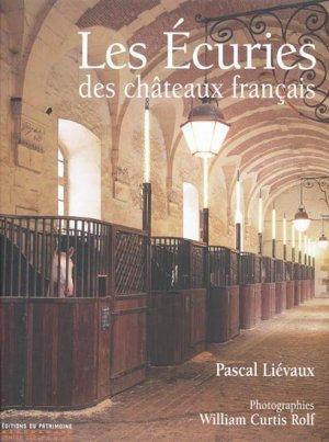 Les écuries des châteaux français - du patrimoine - 9782858228591 -