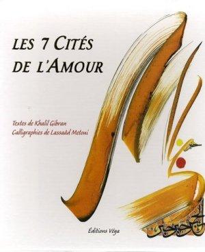 Les 7 Cités de l'Amour - vega - 9782858294640 -