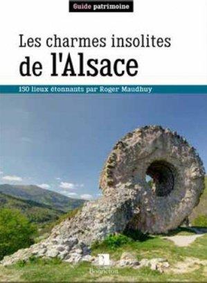 Les charmes insolites de l'Alsace - christine bonneton - 9782862538723 -