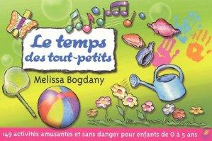 Le temps des tout-petits - Farel éditions - 9782863143339 -