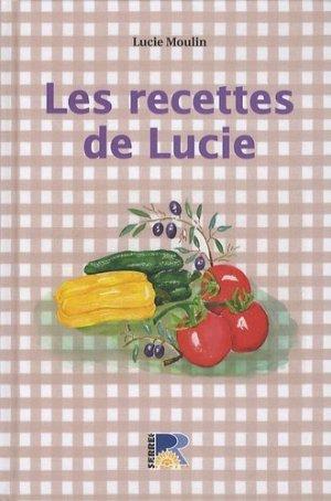 Les recettes de Lucie - serre - 9782864105312 -
