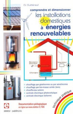 Les installations domestiques à énergies renouvelables - publitronic elektor - 9782866611705 -
