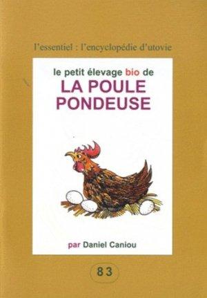 Le petit élevage bio de la poule pondeuse - utovie - 9782868191830 -