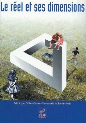 Le réel et ses dimensions - EDP Sciences - 9782868836939 -