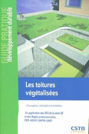 Les toitures végétalisées - cstb - 9782868914811 -