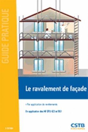 Le ravalement de façade - cstb  - 9782868916150 -