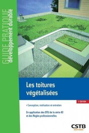 Les toitures et terrasses végétalisées - cstb - 9782868917065 -