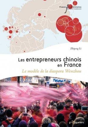 Les entrepreneurs chinois en France - presses universitaires francois rabelais - 9782869067622 -