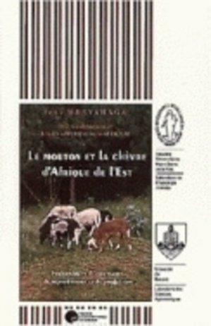 Le mouton et la chèvre d'Afrique de l'est - presses universitaires de namur - 9782870373194 -