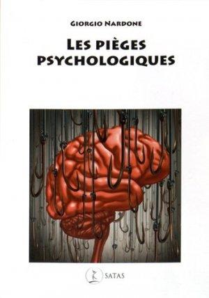 Les pièges psychologiques - satas - 9782872931569 -