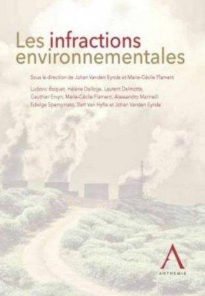 Les infractions environnementales - Anthemis - 9782874559822 -