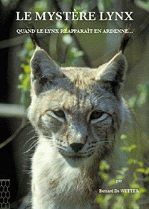 Le mystère lynx - safran - 9782874570247 -