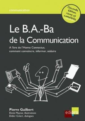 Le B.A-Ba de la communication - Edipro - 9782874960840 -