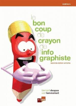 Le bon coup de crayon de l'infographiste - edipro - 9782874962806 -