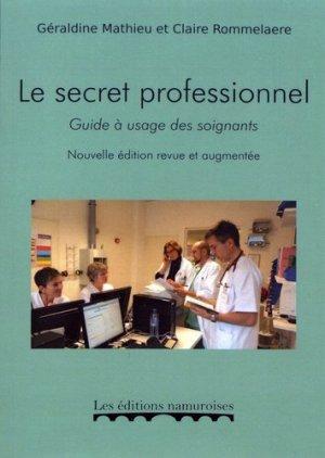 Le secret professionnel - namuroises - 9782875510792 -