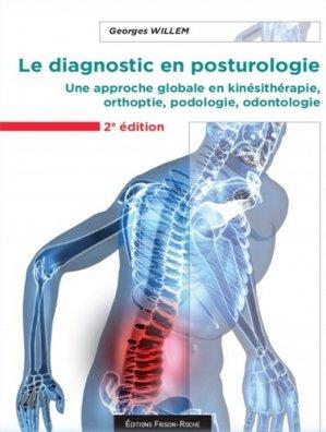 Le diagnostic en posturologie - frison roche - 9782876715943 -
