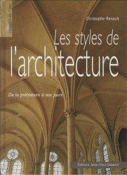 Les styles de l'architecture - gisserot - 9782877478373 -