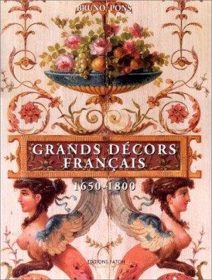 Les grands décors français - faton - 9782878440232 -