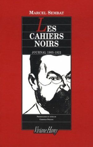 Les cahiers noirs. Journal 1905-1922 - Editions Viviane Hamy - 9782878582543 -