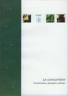 Le concombre - centre technique interprofessionnel des fruits et légumes - ctifl - 9782879112534 -