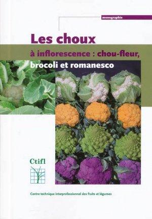 Les choux à inflorescence : chou-fleur, brocoli, romanesco - ctifl - 9782879113326