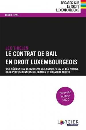 Le contrat de bail. 2e édition - Promoculture - 9782879983318 -