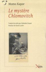 Le mystère Chlomovitch - Xenia Editions - 9782888920052 -