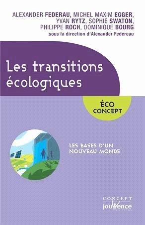 Les transitions écologiques - jouvence - 9782889119875 -