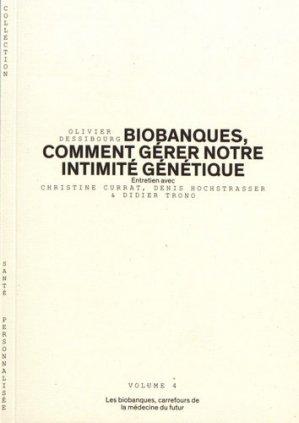 Les biobanques, carrefours de la médecine du futur - le moniteur des pharmacies - 9782889410507 -