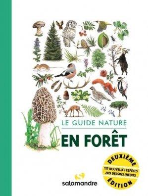 Le guide nature en forêt - la salamandre  - 9782889584031 -