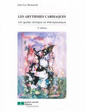 Les arythmies cardiaques - gaetan morin - 9782891059503 -