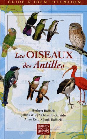 Les oiseaux des Antilles - michel quintin - 9782894353288 -
