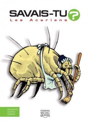 Les acariens - michel quintin - 9782894357170 -