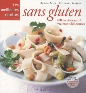 Les meilleures recettes sans gluten - guy saint jean  - 9782894552759 -