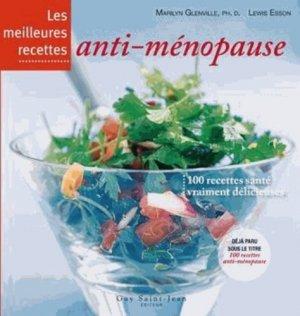 Les meilleures recettes anti-ménopause - guy saint jean  - 9782894553664 -