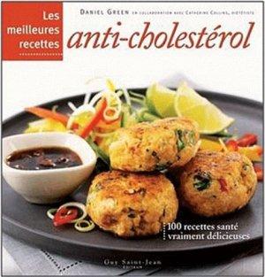 Les meilleures recettes anti-cholestérol - guy saint jean  - 9782894553909 -