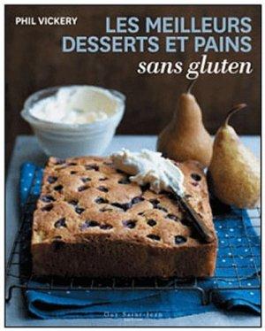 Les meilleurs desserts et pains sans gluten - guy saint jean  - 9782894553992 -