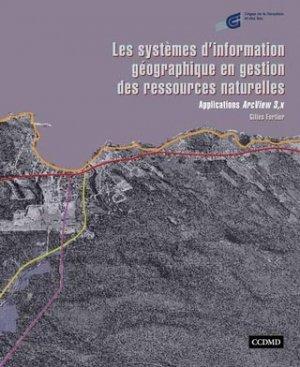 Les systèmes d'information géographique en gestion des ressources naturelles - ccdmd (canada) - 9782894701522 -