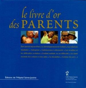 Le livre d'or des parents - chu sainte-justine - 9782896190348 -